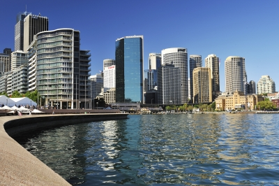 Australie, baie de Sydney - Différents types de logement en Australie