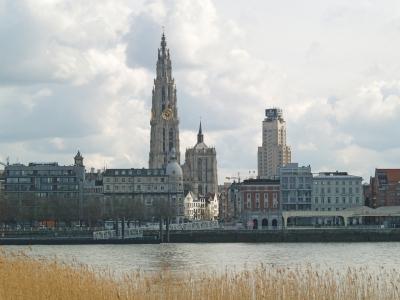 Paysage en Belgique - Anvers. Coût de la vie en Belgique